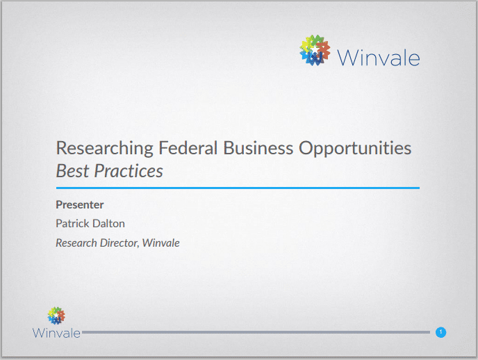 What Are the Best Practices for Researching Federal Business Opportunities?