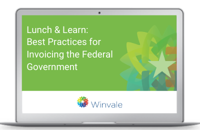 Best Practices for Invoicing the Federal Government Webinar Cover