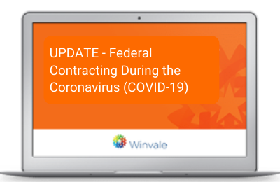 Federal Contracting During the Coronavirus Webinar Thumbnail for Resources