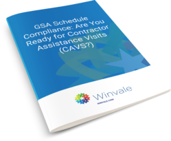GSA Schedule Compliance - Are You Ready for Contractor Assistance Visits (CAVS) - ebook cover