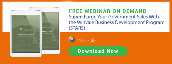 Register for the Supercharge Your Government Sales With the Winvale Business Development STARS Program.