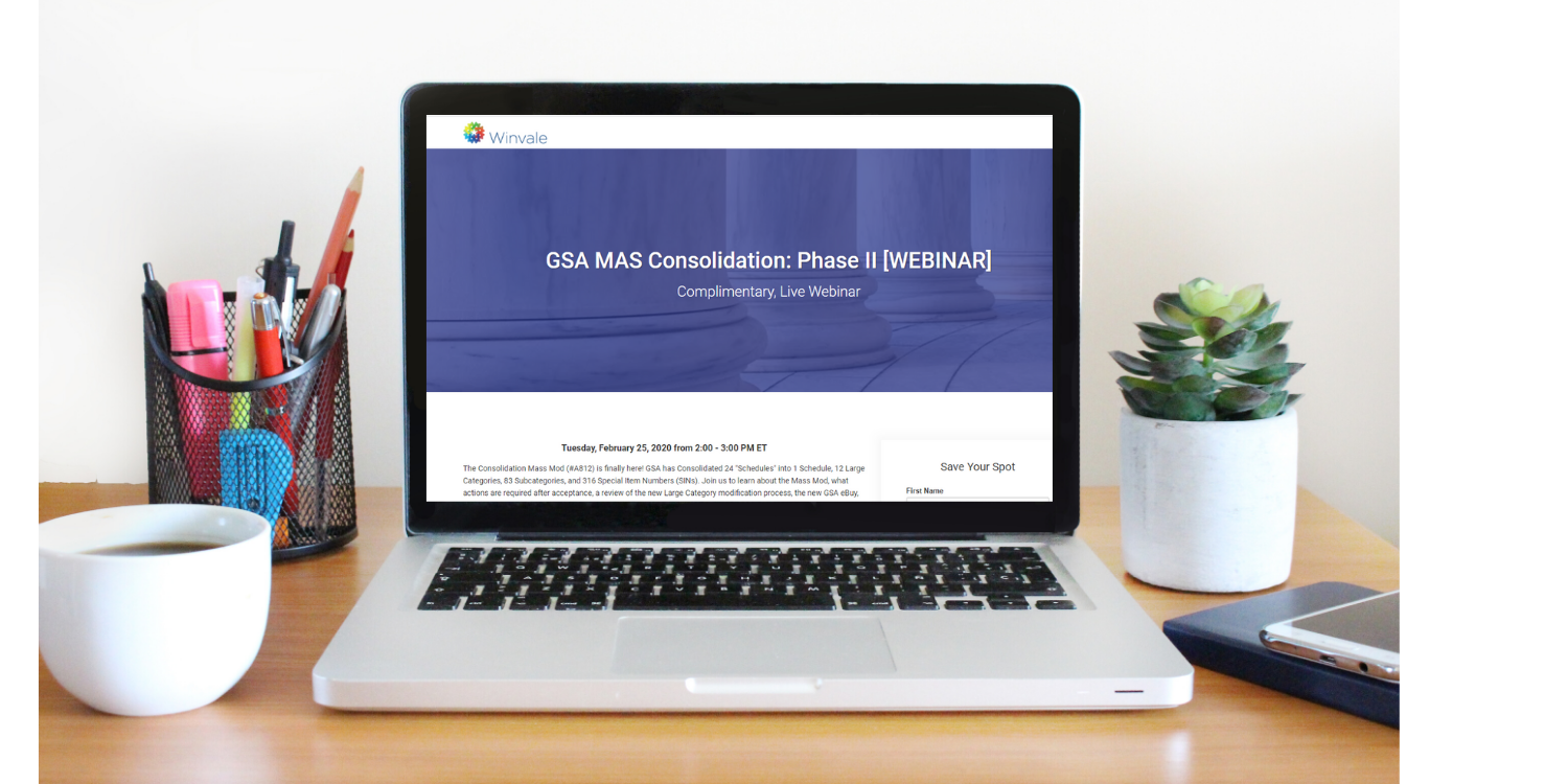 GSA MAS Consolidation Phase II:  Current GSA Contractors