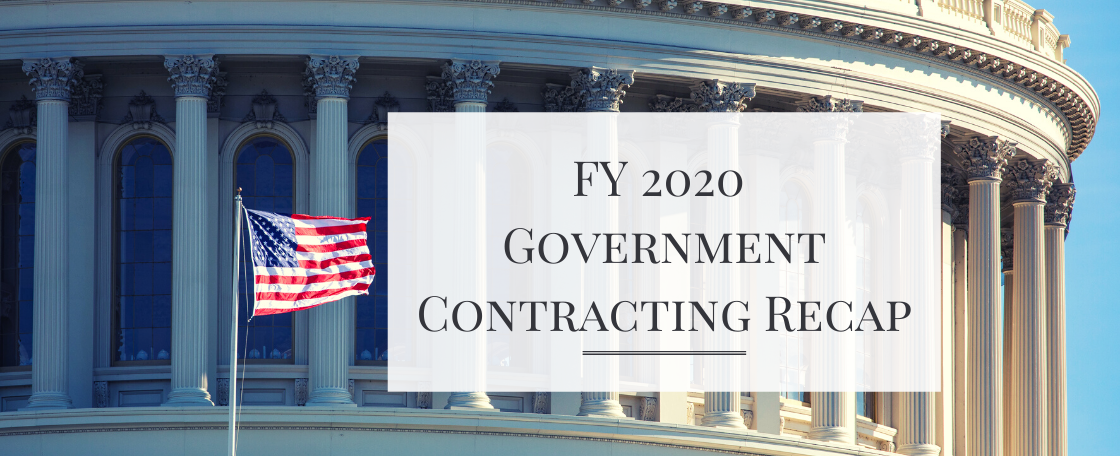 Fiscal Year 2020 Government Contracting Recap